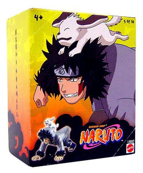 Naruto Tree Diorama Series 1 Kiba & Akamaru 3-Inch PVC Figure #5