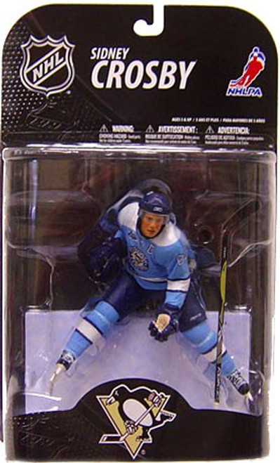 McFarlane Toys NHL Pittsburgh Penguins Sports Picks Series 21 Sidney Crosby Action Figure [Powder Blue Jersey]