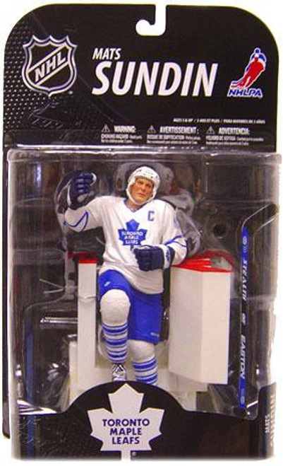 McFarlane Toys NHL Toronto Maple Leafs Sports Picks Series 21 Mats Sundin Action Figure