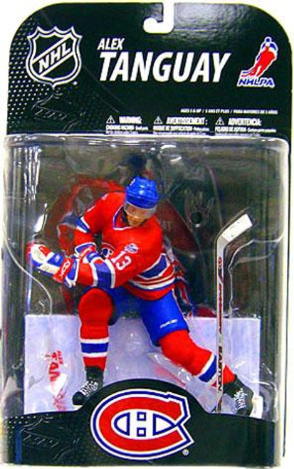 McFarlane Toys NHL Montreal Canadiens Sports Picks Series 21 Alex Tanguay Action Figure