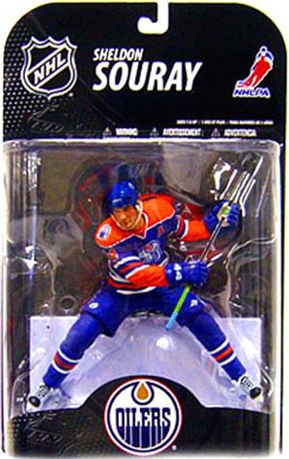 McFarlane Toys NHL Edmonton Oilers Sports Picks Series 21 Sheldon Souray Action Figure