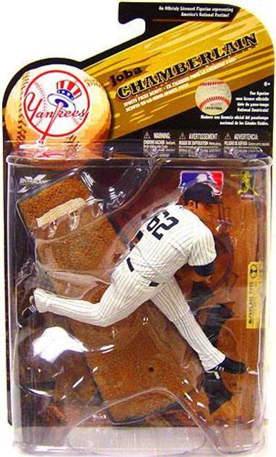 McFarlane Toys MLB New York Yankees Sports Picks Series 25 Joba Chamberlain Action Figure [White Jersey]