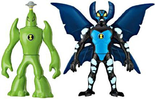 Ben 10 Alien Force Alien Creation Chamber Goop & Big Chill Mini Figure 2-Pack