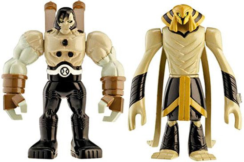 Ben 10 Alien Force Alien Creation Chamber Benvicktor & Benmummy Mini Figure 2-Pack