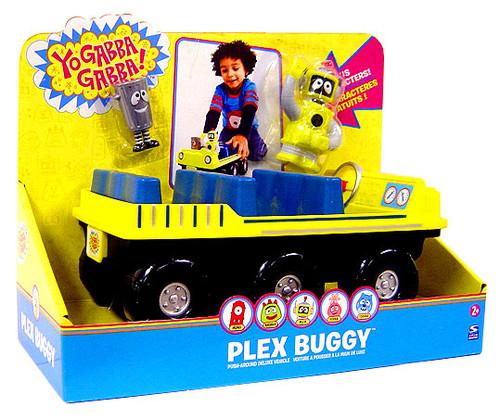 Yo Gabba Gabba Push Around Plex Buggy Vehicle