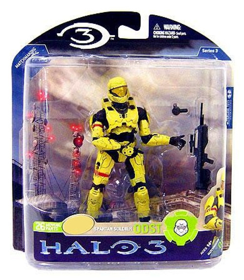 McFarlane Toys Halo 3 Series 3 Spartan Soldier ODST Exclusive Action Figure [Pale]