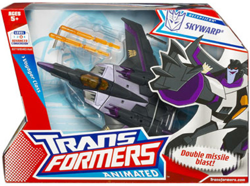 Transformers Animated Voyager Skywarp Voyager Action Figure