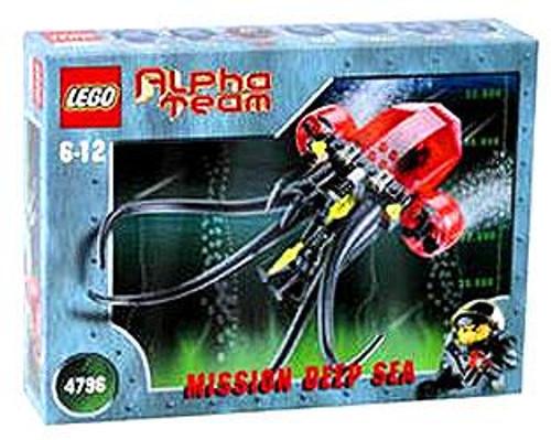 LEGO Alpha Team Mission Deep Sea Ogel Mutant Squid Deep Sea Set #4796