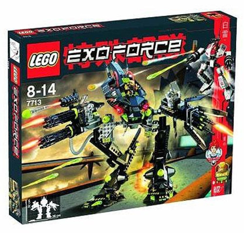 LEGO Exo Force Bridge Walker Vs. White Lightning Set #7713