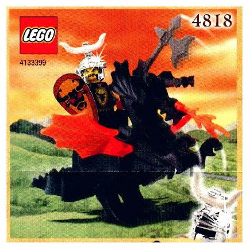 LEGO Knights Kingdom Dragon Rider Exclusive Set #4818