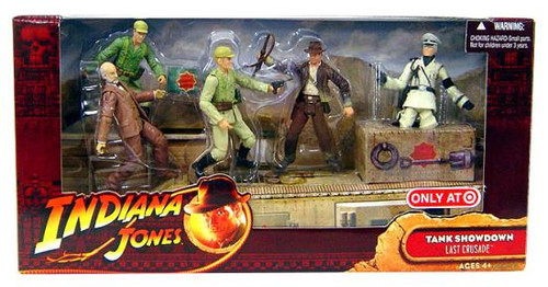 Indiana Jones The Last Crusade Tank Showdown Exclusive Action Figure 5-Pack