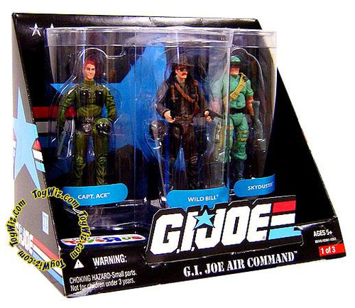 GI Joe Air Command Exclusive Action Figure 3-Pack