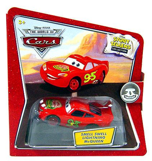 Disney Cars The World of Cars Story Tellers Smell Swell Lightning McQueen Diecast Car