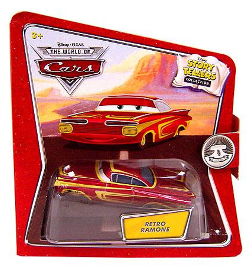 Disney Cars The World of Cars Story Tellers Retro Ramone Diecast Car