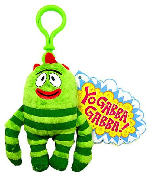 Yo Gabba Gabba Brobee Plush Clip On