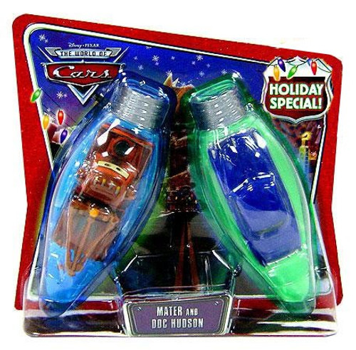 Disney Cars The World of Cars Multi-Packs Mater & Doc Hudson Holiday Special Diecast Car 2-Pack