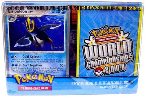 Pokemon World Championships Deck 2008 Dylan Lefavour's Speed Empotech Deck