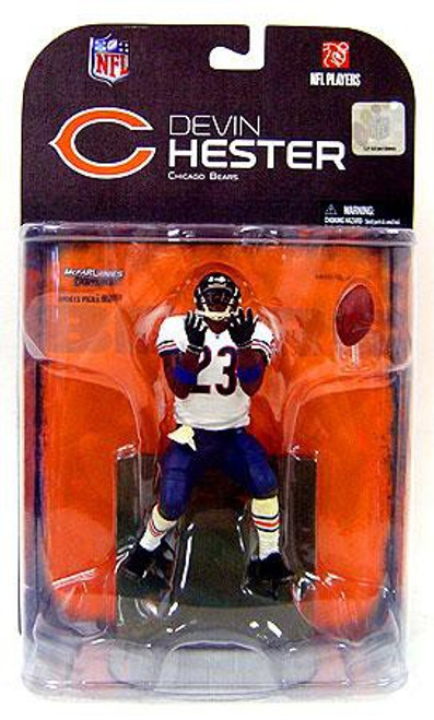 McFarlane Toys NFL Chicago Bears Sports Picks Series 18 Devin Hester Action Figure [Blue Wrist Bands Variant]