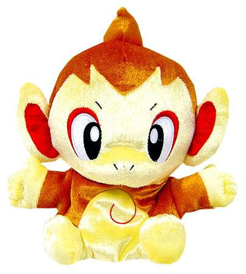 Pokemon Diamond & Pearl 5 Inch Puppets Chimchar Plush Hand Puppet