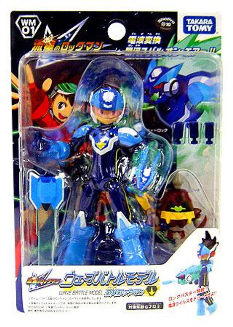 Rockman Star Force Takara Wave Battle DX Mega Man Action Figure WM-01