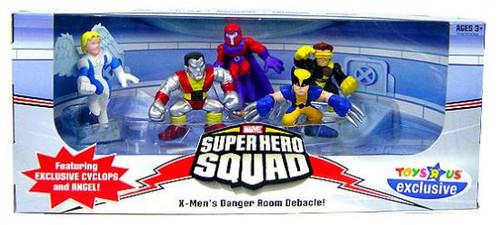 Marvel Super Hero Squad X-Men's Danger Room Debacle Exclusive Action Figure Set