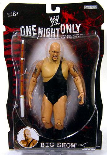 WWE Wrestling Pay Per View Series 19 One Night Only Big Show Action Figure
