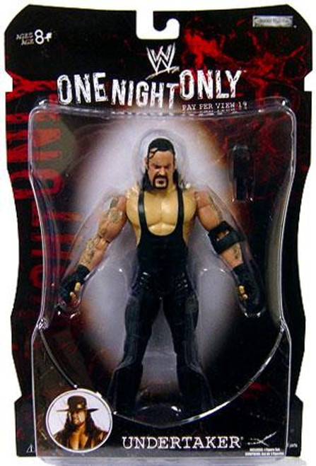 WWE Wrestling Pay Per View Series 19 One Night Only Undertaker Action Figure