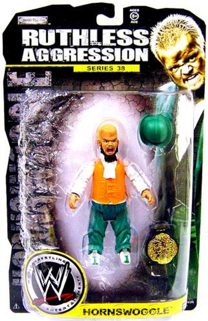 WWE Wrestling Ruthless Aggression Series 38 Hornswoggle Action Figure