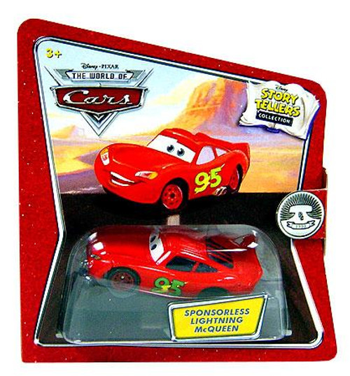 Disney Cars The World of Cars Story Tellers Sponsorless Lightning McQueen Diecast Car