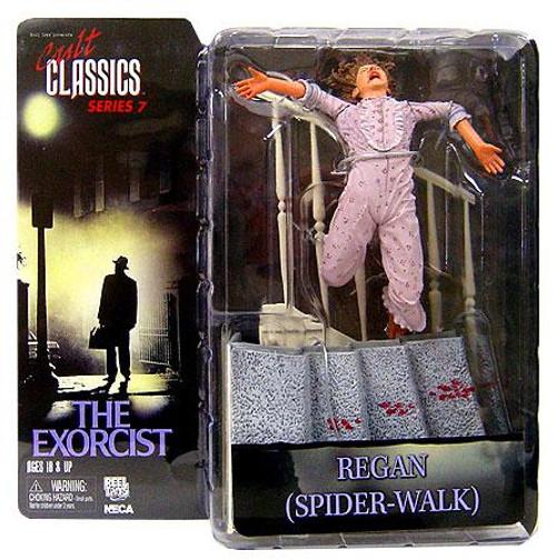 NECA The Exorcist Cult Classics Series 7 Regan Action Figure [Spider-Walk, Bloody]