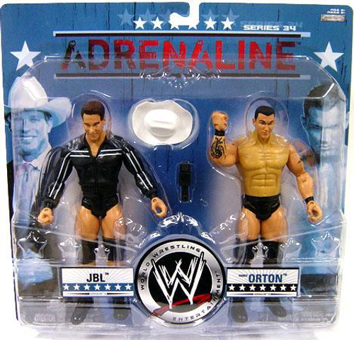 WWE Wrestling Adrenaline Series 34 JBL & Randy Orton Action Figure 2-Pack