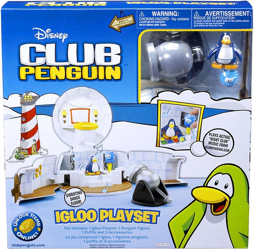 Club Penguin Igloo Playset [Damaged Package]