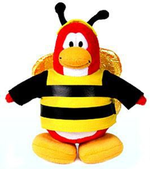 Club Penguin Series 1 Bumble Bee 6.5-Inch Plush Figure