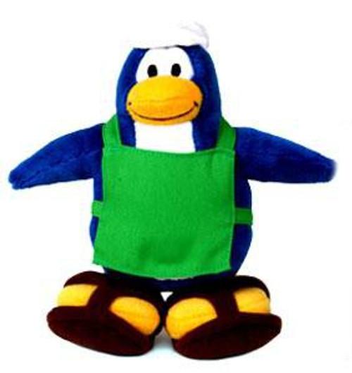 Club Penguin Series 1 Barista 6.5-Inch Plush Figure