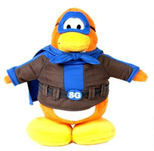 Club Penguin Series 1 Shadow Guy 6.5-Inch Plush Figure [Version 1]
