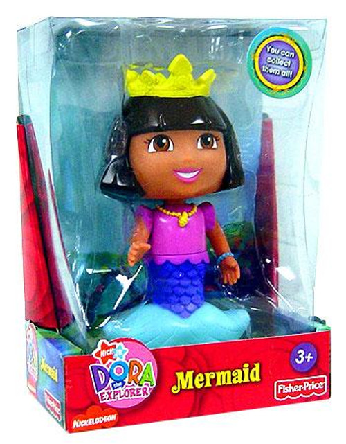 Fisher Price Dora the Explorer Mermaid 5-Inch Figure