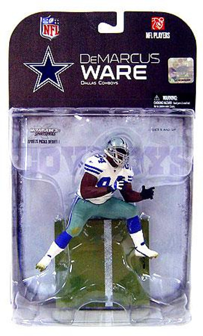 McFarlane Toys NFL Dallas Cowboys Sports Picks Series 18 DeMarcus Ware Action Figure [Dirty Variant]