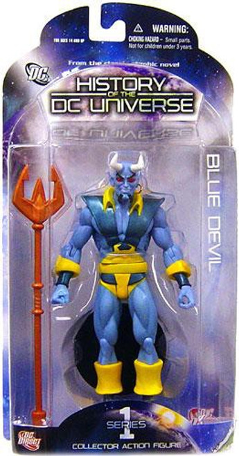 History of the DC Universe Series 1 Blue Devil Action Figure