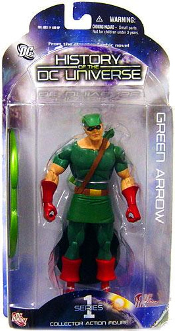 History of the DC Universe Series 1 Green Arrow Action Figure