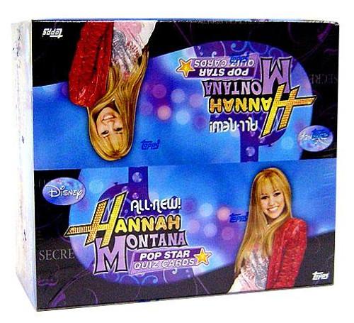 Disney Hannah Montana Pop Star Quiz Card Game