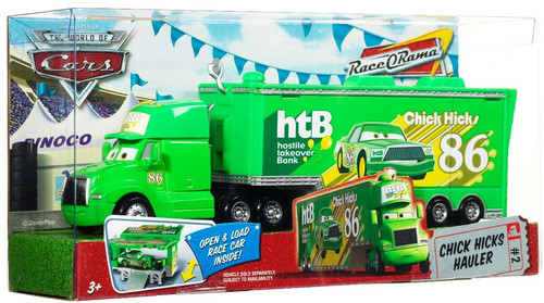 Disney Cars Movie Haulers Chick Hicks Hauler Diecast Car Playset