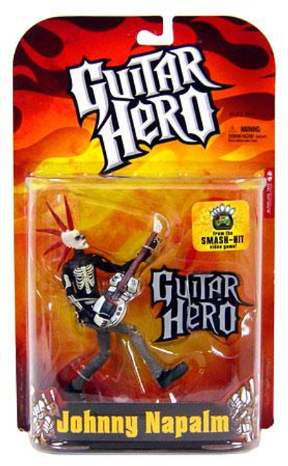 McFarlane Toys Guitar Hero Johnny Napalm Action Figure [Skeleton Variant]