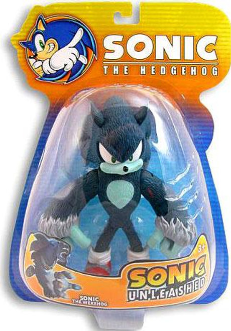 Sonic The Hedgehog Sonic Unleashed Sonic Exclusive Action Figure [Werehog]
