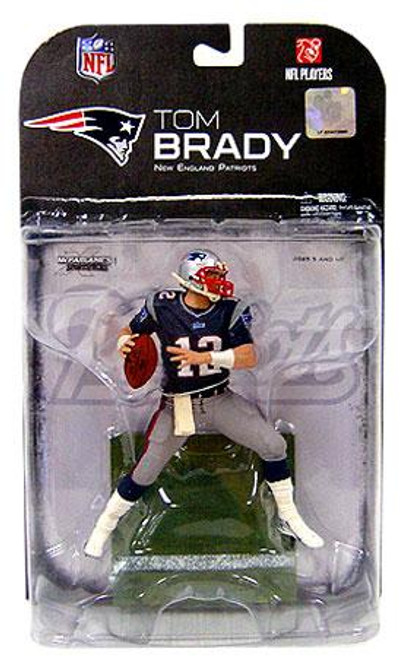 McFarlane Toys NFL New England Patriots Sports Picks Series 18 Tom Brady Action Figure [Clean Variant]