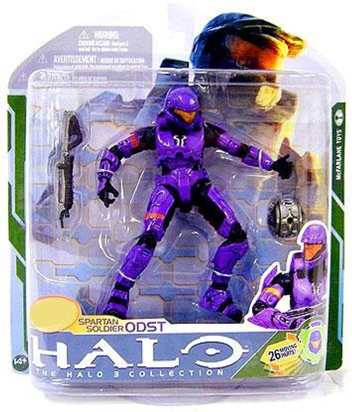 McFarlane Toys Halo 3 Series 5 Spartan Soldier ODST Exclusive Action Figure [Violet]