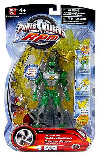 Power Rangers RPM Auxilliary Trax Auxiliary Trax Shark Guardian Action Figure