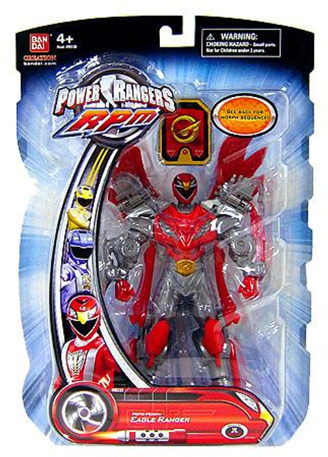 Power Rangers RPM Moto Morph Eagle Ranger Action Figure