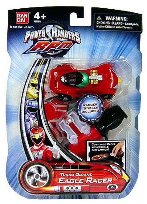 Power Rangers RPM Turbo Octane Eagle Racer Action Figure