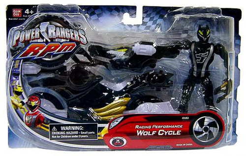 Power Rangers RPM Auxilliary Trax Racing Performance Wolf Cycle Action Figure