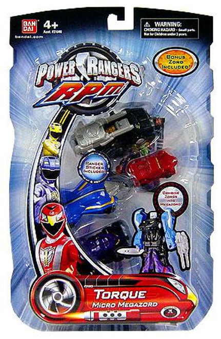 Power Rangers RPM Torque Micro Megazord Action Figure